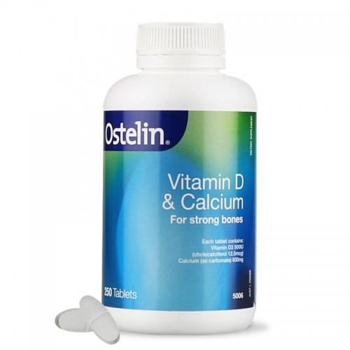 Ostelin奥斯特林成人维生素D3钙片 250片  孕妇补钙