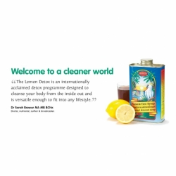Lemon Detox 柠檬瘦身天然树糖浆 保质期2020/08