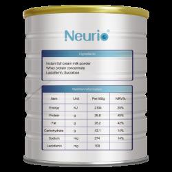 Neurio 纽瑞优 婴幼儿乳铁蛋白调制乳粉蓝钻版 1g*60袋