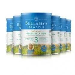 BELLAMY'S 贝拉米有机婴儿奶粉3段 六罐包邮