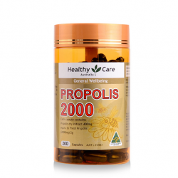 Healthy Care 高剂量蜂胶胶囊 Propolis Capsules 2000mg* 200粒