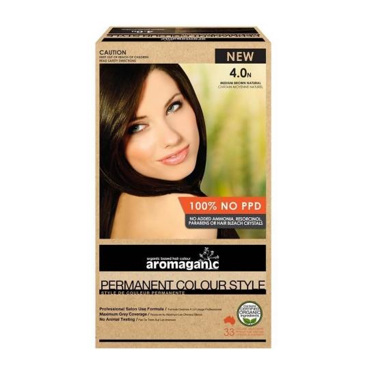 Aromaganic 纯天然植物染发膏染发剂无ppd 12色可选 100g