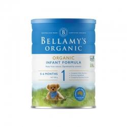BELLAMY'S 贝拉米有机婴儿奶粉1段 六罐包邮