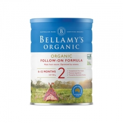BELLAMY'S 贝拉米有机婴儿奶粉2段 六罐包邮