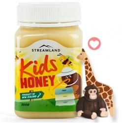李湘推荐Streamland新溪岛Kids Honey蜂蜜儿童蜂蜜500g
