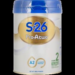 惠氏S26 Pro-A two A2婴幼儿奶粉 2段 6罐包邮