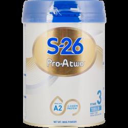 惠氏S26 Pro-A two A2婴幼儿奶粉 3段 6罐包邮 1岁以上