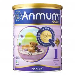 Anmun Gold安满金装婴儿配方奶粉1段900g六罐